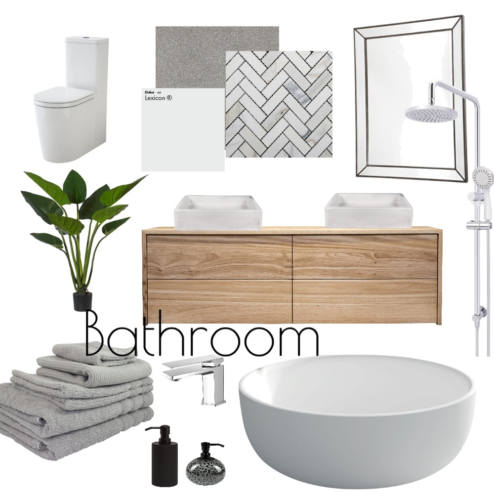 Bathroom Interior Design Mood Board by Toriwriter on Style Sourcebook