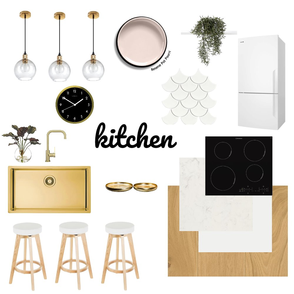kitchen Interior Design Mood Board by chanelmcglashen on Style Sourcebook