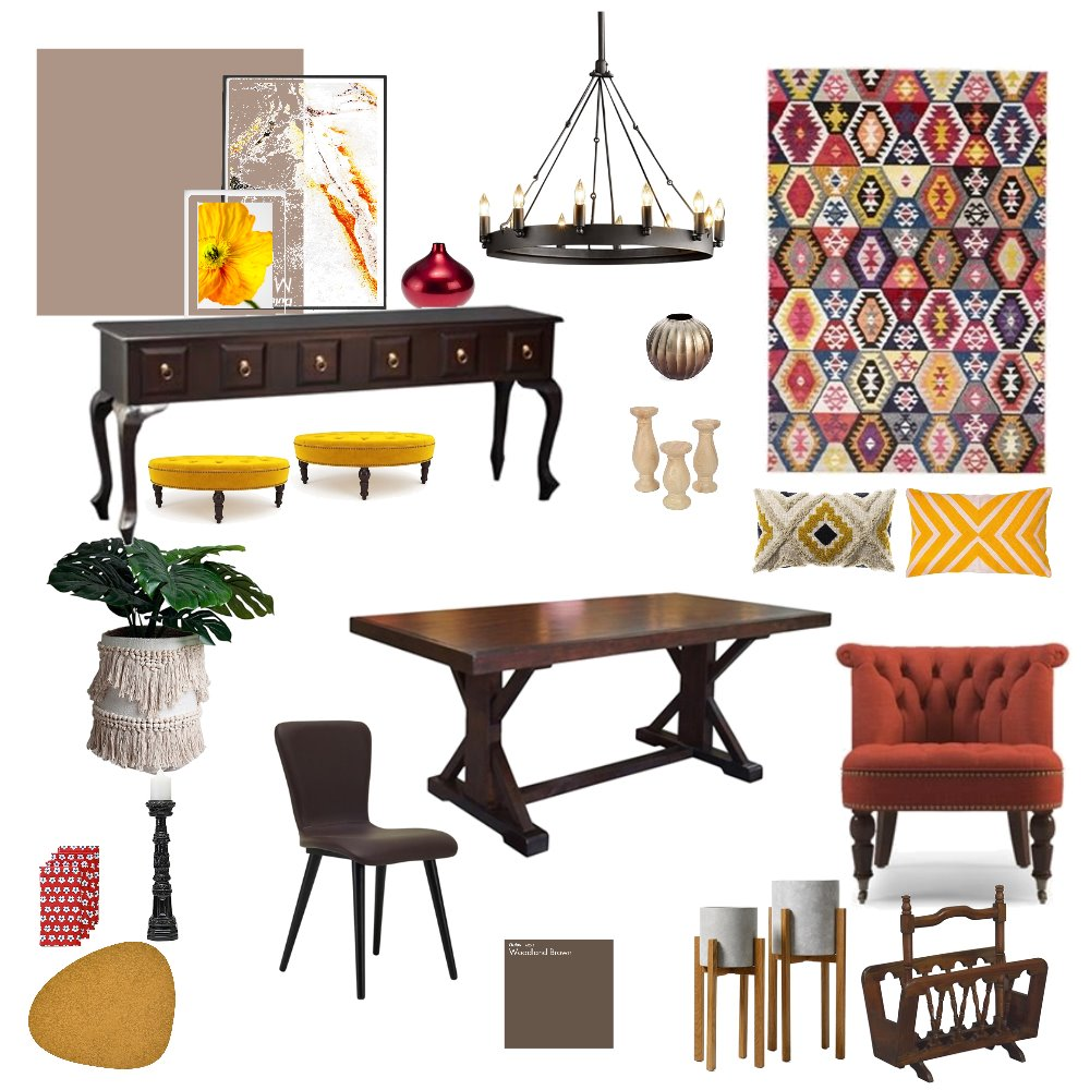 first time Interior Design Mood Board by maroosh on Style Sourcebook