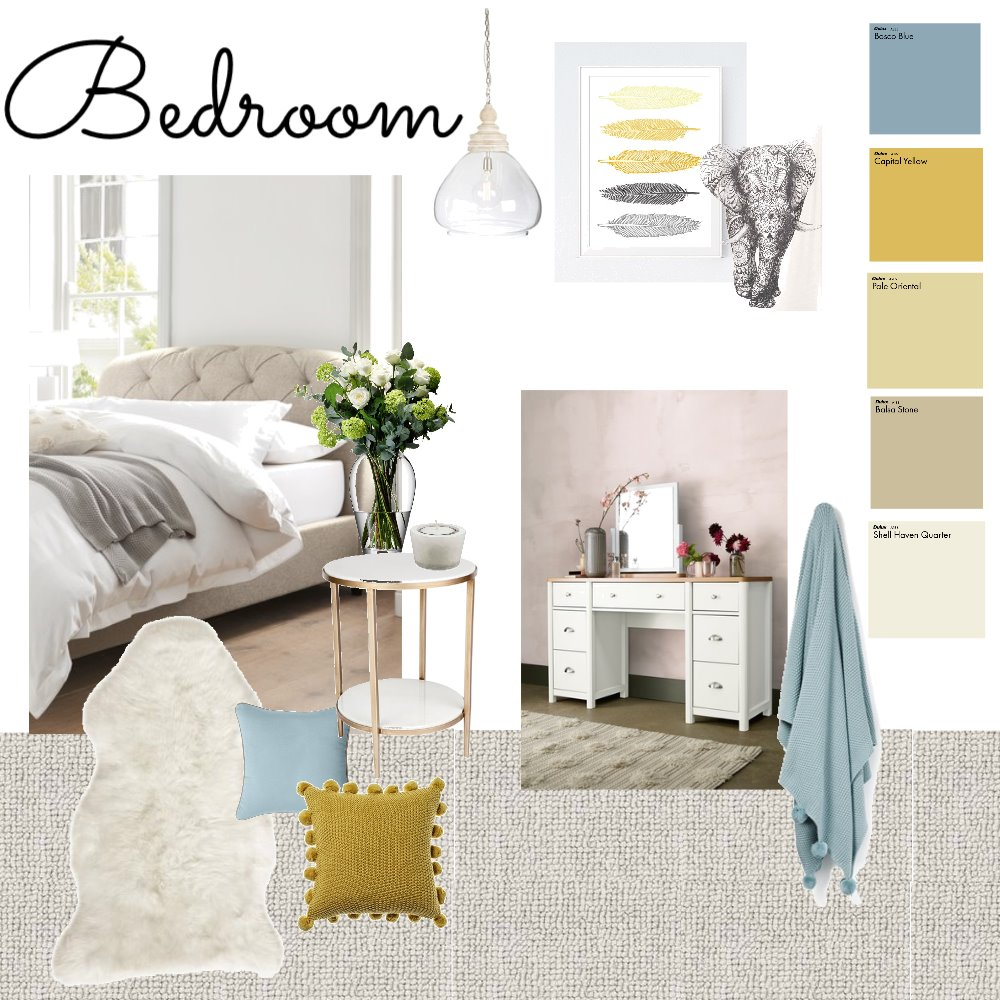Mums bedroom Interior Design Mood Board by SarahElsey on Style Sourcebook