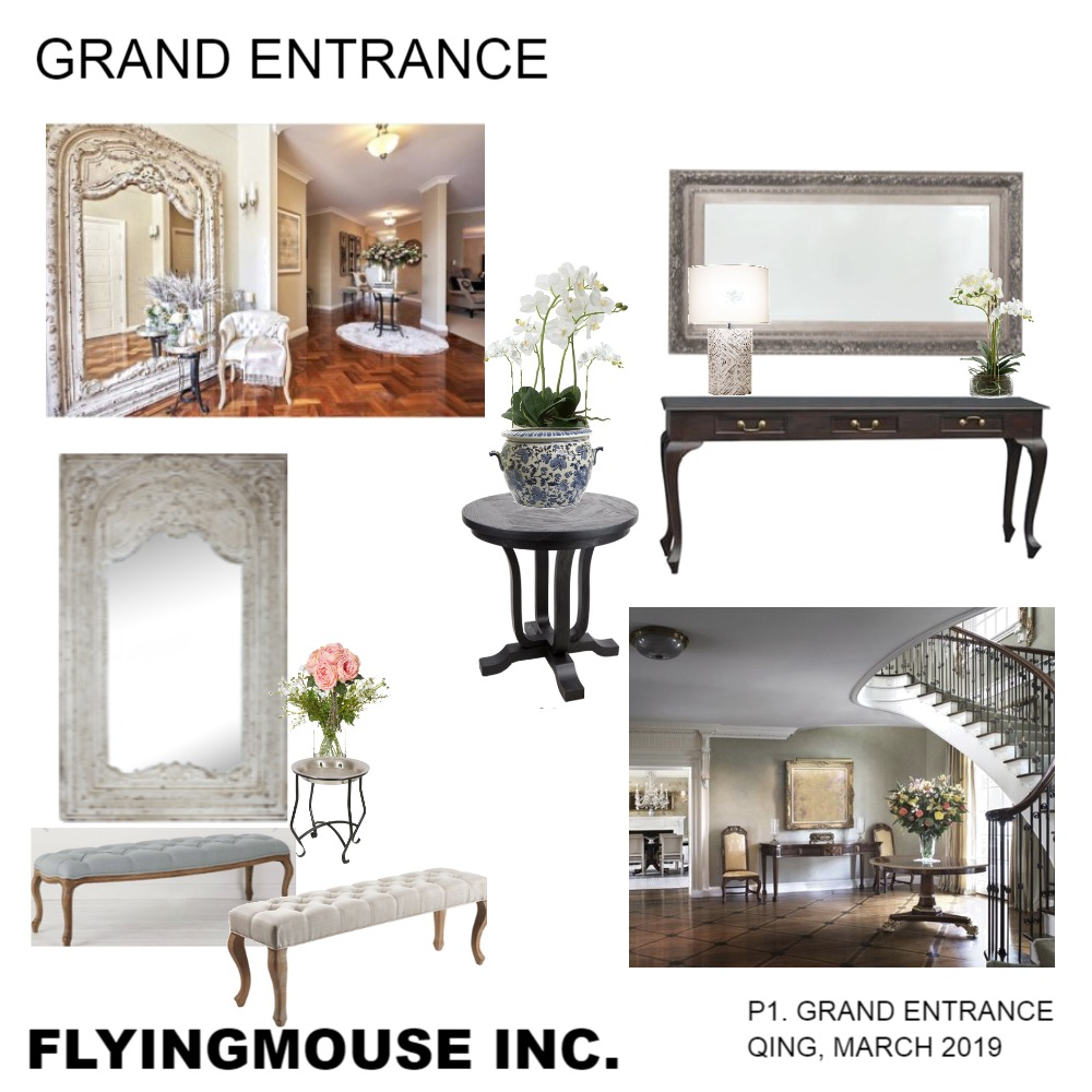Grand Entrance Interior Design Mood Board by emmi_loulalay on Style Sourcebook