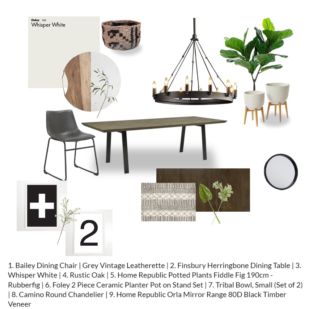 Module 9 Interior Design Mood Board by danamlev on Style Sourcebook