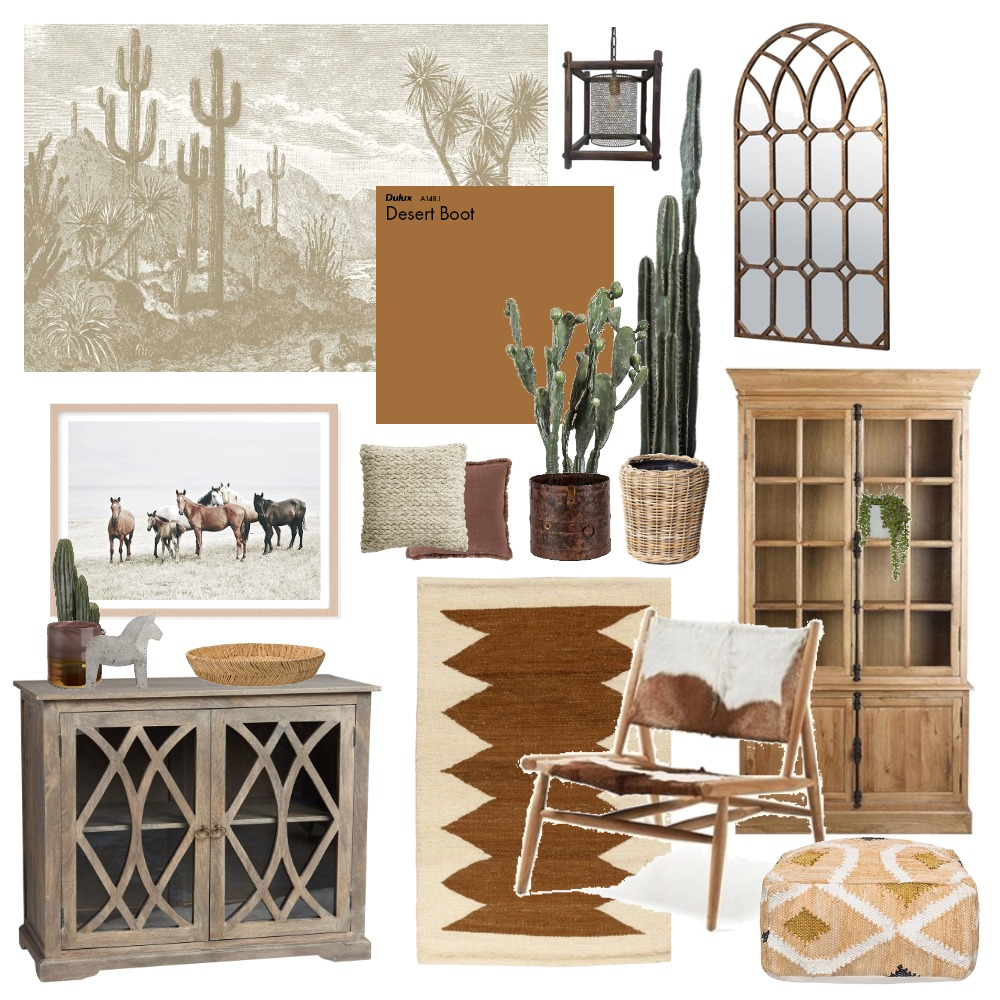 Desert style Interior Design Mood Board by Thediydecorator on Style Sourcebook