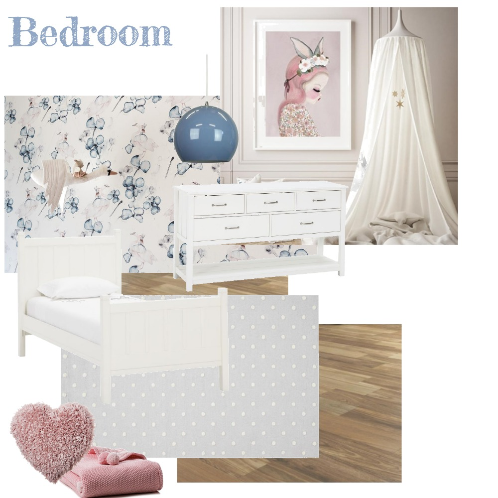 Bedroom 2 (Navy/Blue) Interior Design Mood Board by aphraell on Style Sourcebook