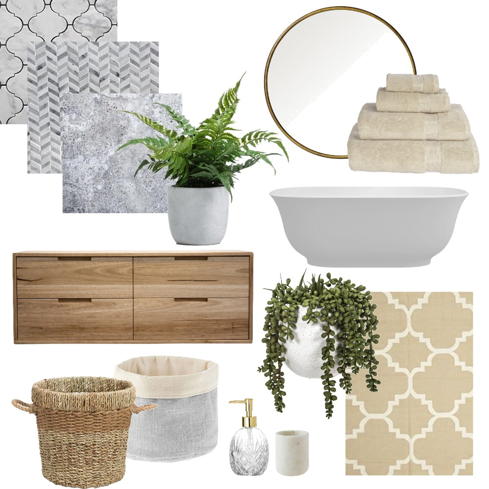 bathroom Interior Design Mood Board by claireswanepoel on Style Sourcebook