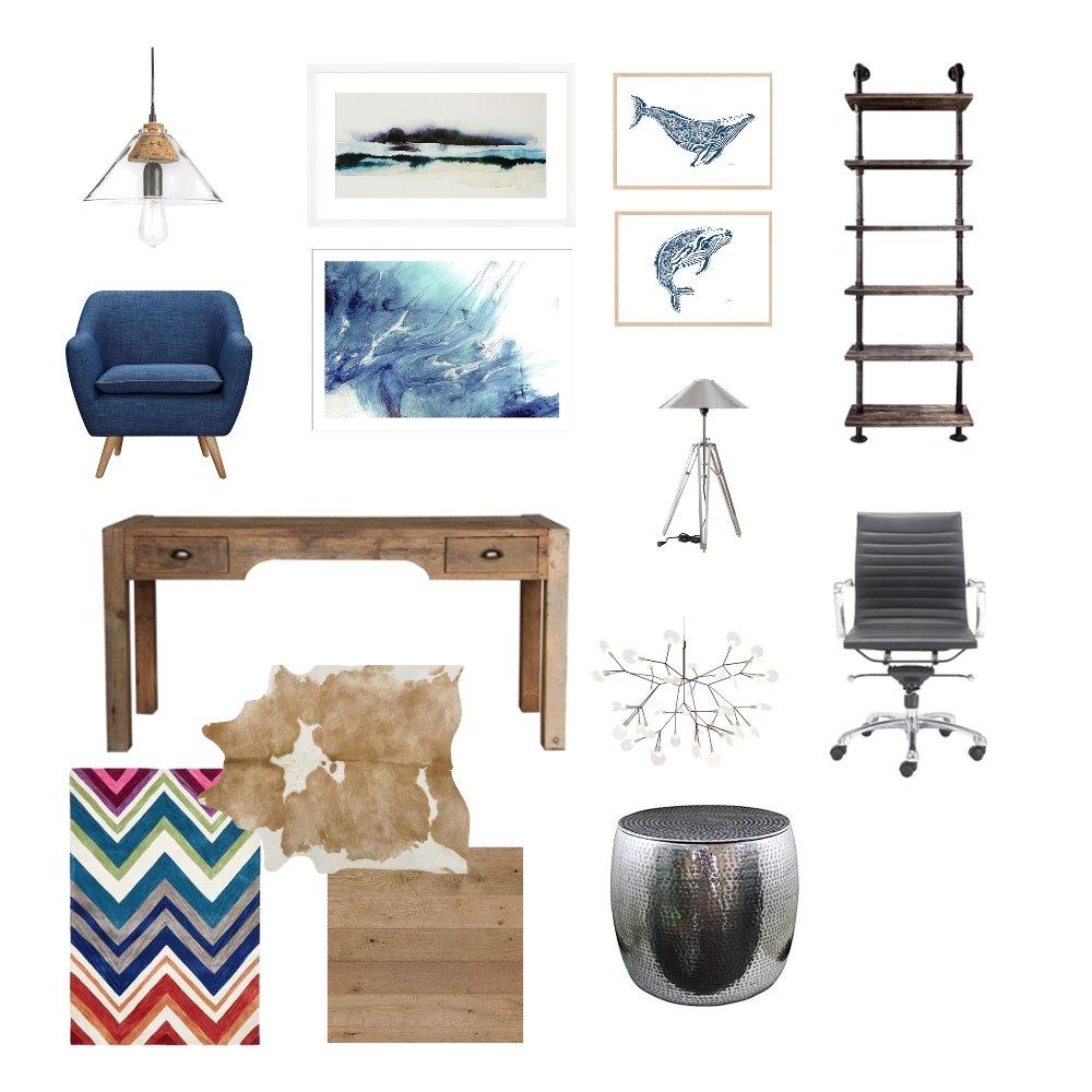 Study Interior Design Mood Board by LizBotha on Style Sourcebook