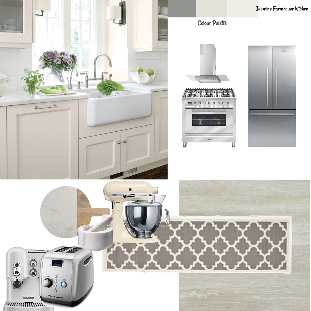 Jasmine kitchen Interior Design Mood Board by Style A Space on Style Sourcebook