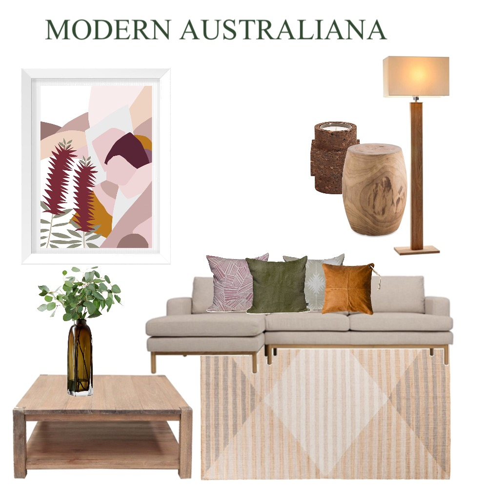 Modern Australiana Interior Design Mood Board by Simplestyling on Style Sourcebook