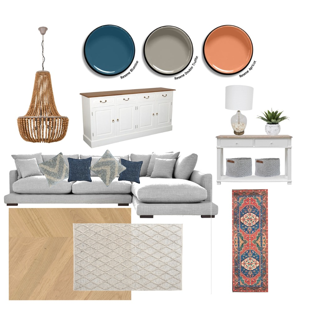 Pantone Inspired Living Room Interior Design Mood Board by KerriJean on Style Sourcebook