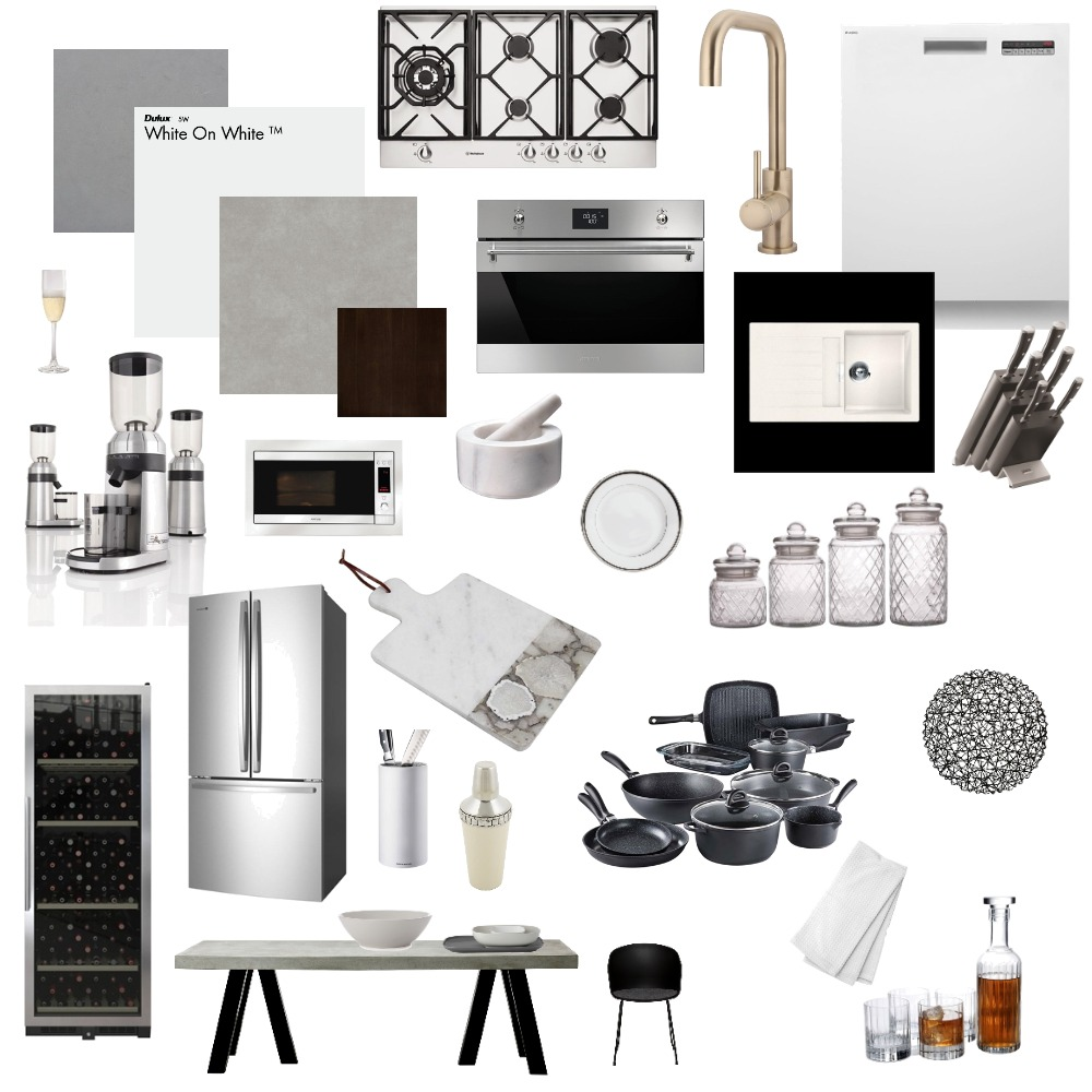 Kitchen/Dining Interior Design Mood Board by sadeyasminx on Style Sourcebook
