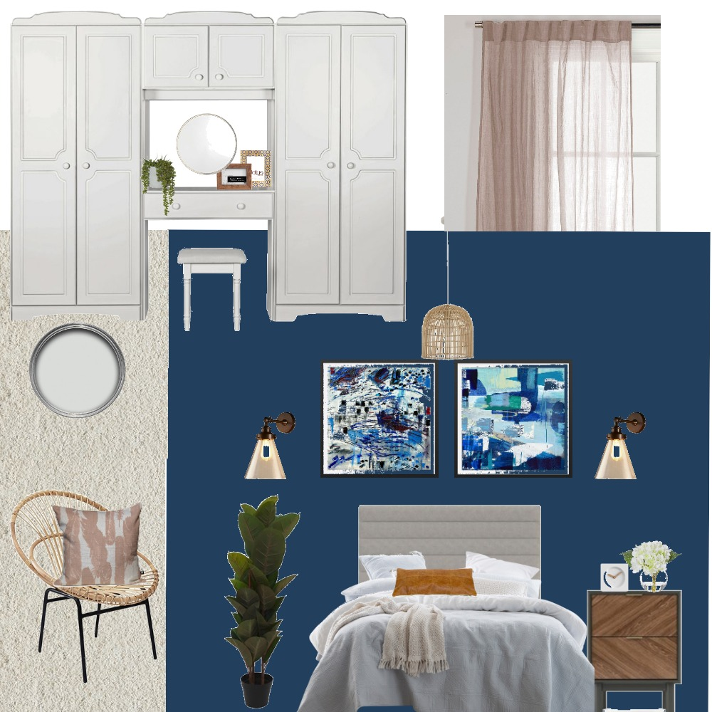 Garcha folk's bedroom Interior Design Mood Board by AmanG on Style Sourcebook
