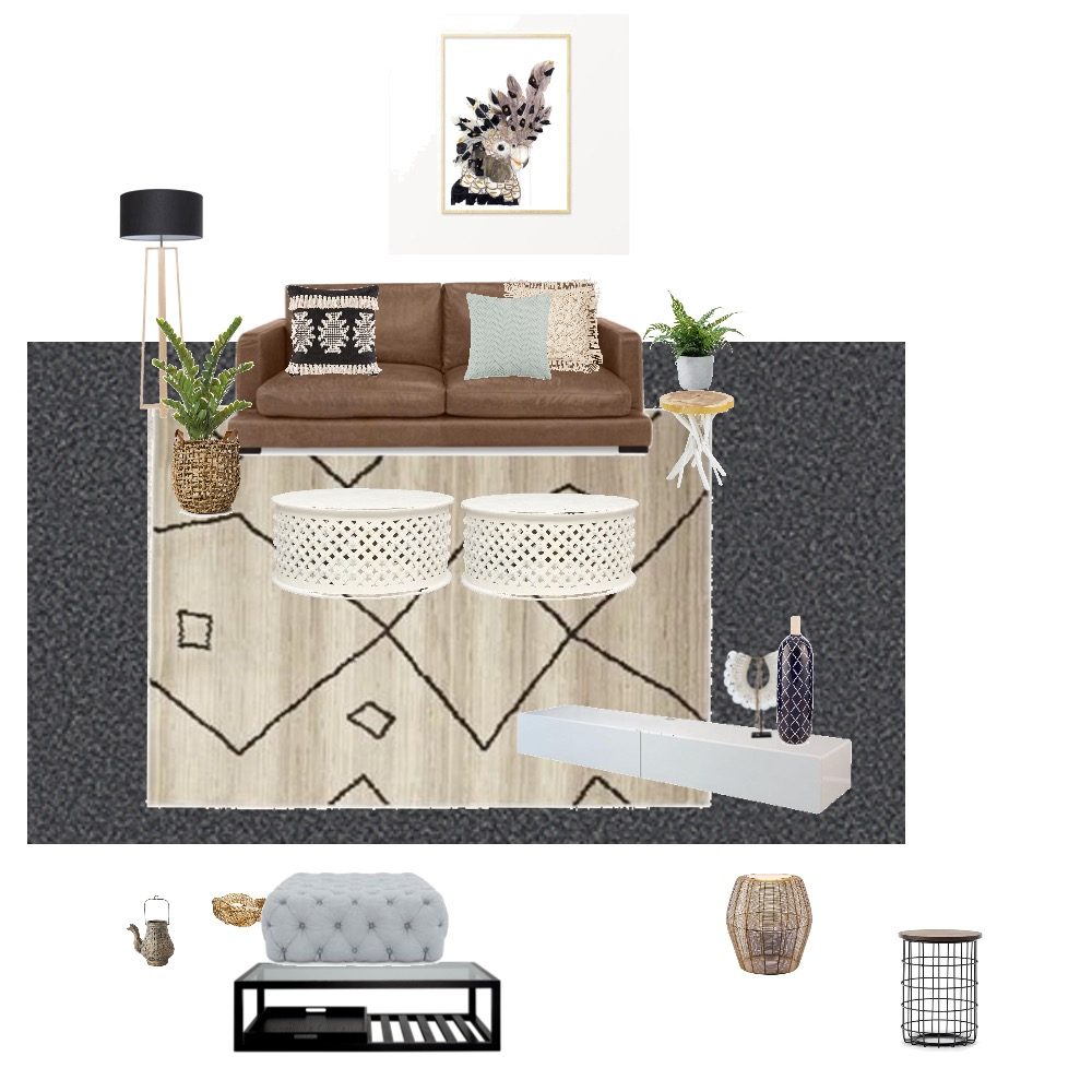 Living room Interior Design Mood Board by Charrison on Style Sourcebook