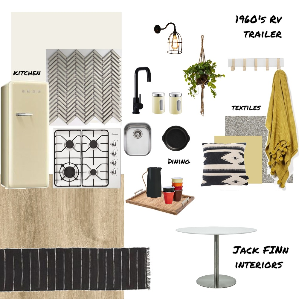 1967 Golden Falcon Renovation Interior Design Mood Board by JackFINNInteriors on Style Sourcebook