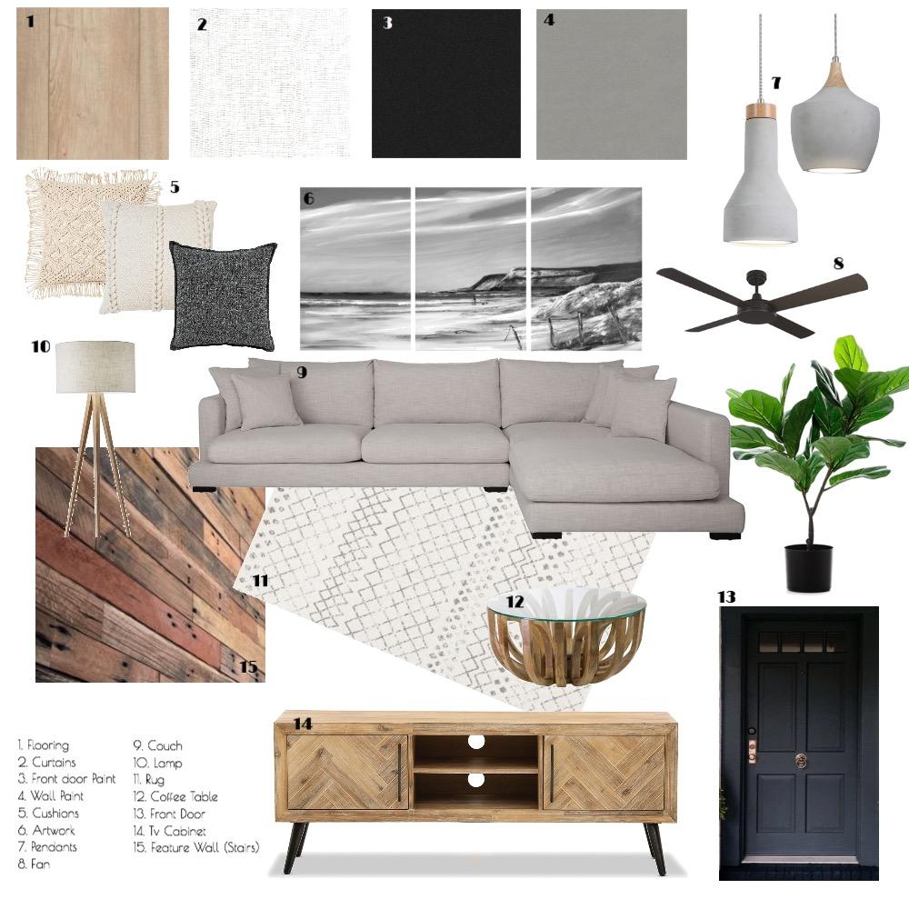 Module 9: Living Room Interior Design Mood Board by feigej on Style Sourcebook