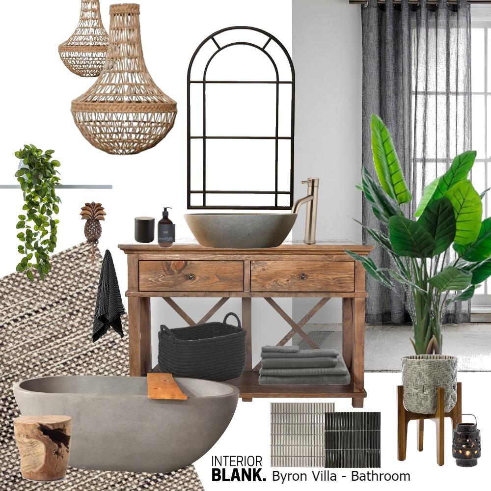 Byron Villa Bathroom Interior Design Mood Board by Interior Blank on Style Sourcebook