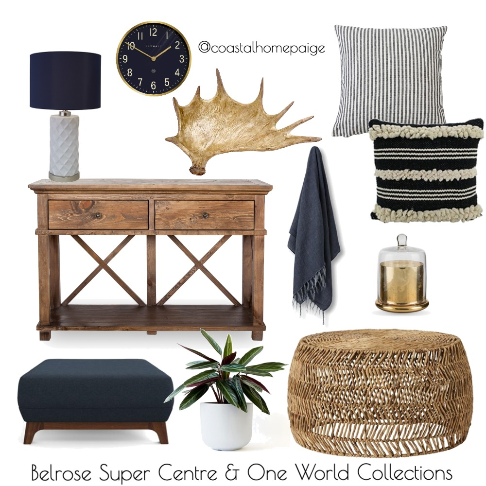 Navy Gravy Interior Design Mood Board by CoastalHomePaige on Style Sourcebook