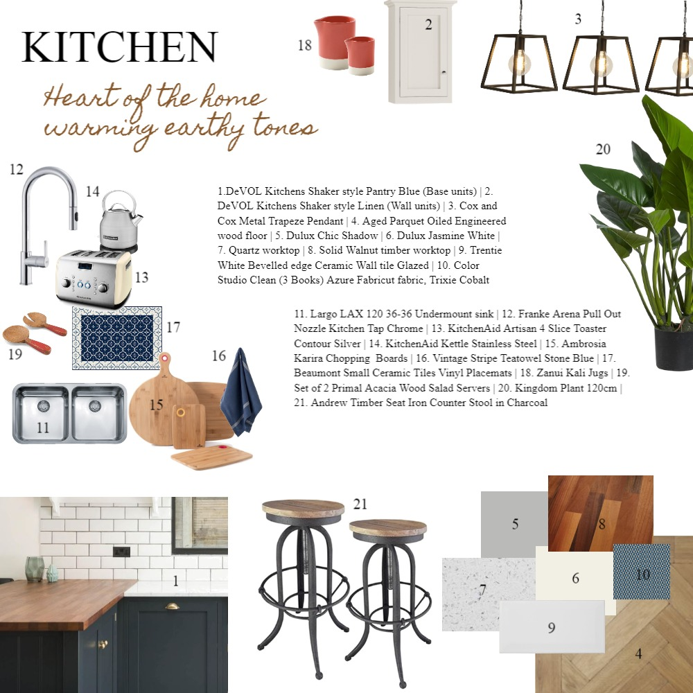 IDI assignment 9 - Kitchen Interior Design Mood Board by Laurenboyes on Style Sourcebook