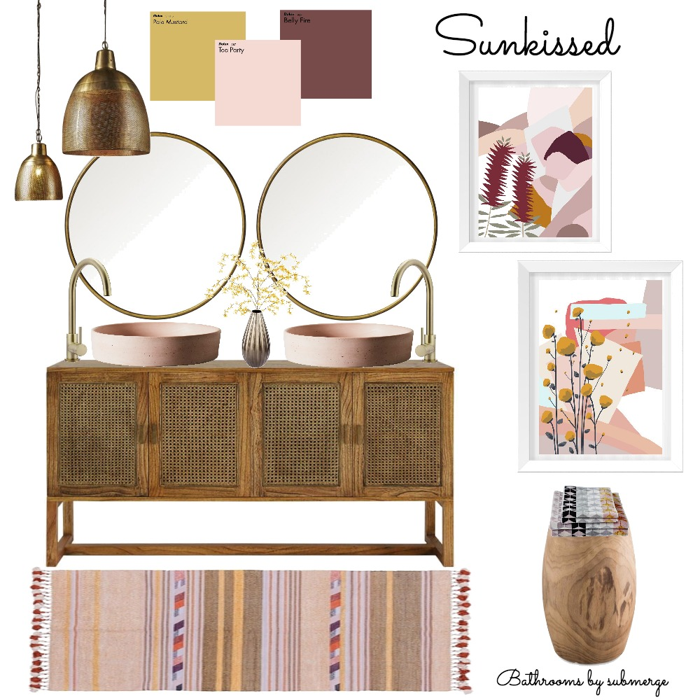 Sunkissed Interior Design Mood Board by submergedesign on Style Sourcebook