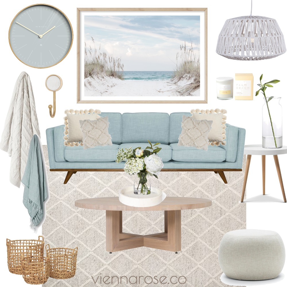 Sydney Living Interior Design Mood Board by Vienna Rose Styling on Style Sourcebook