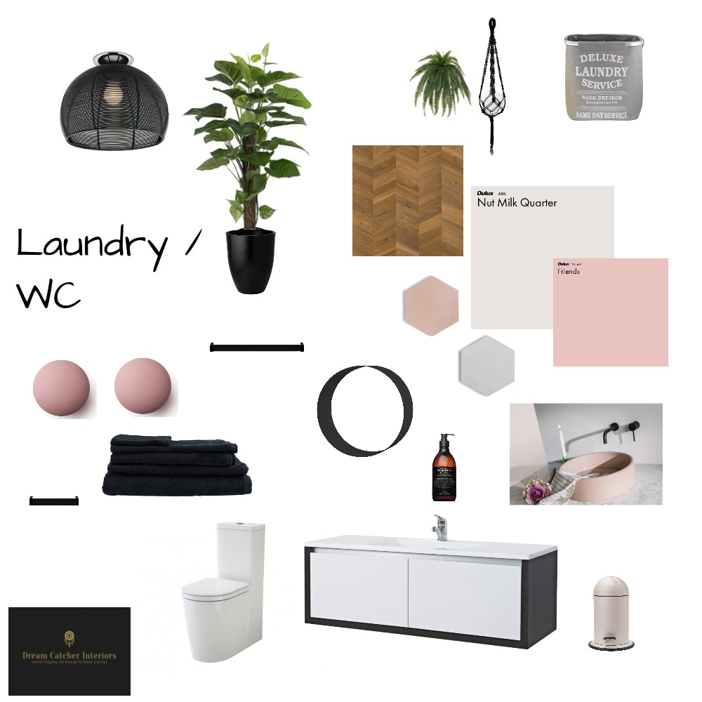 Laundry / WC Interior Design Mood Board by HelenGriffith on Style Sourcebook