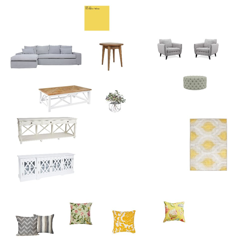 living room Interior Design Mood Board by Aurora on Style Sourcebook