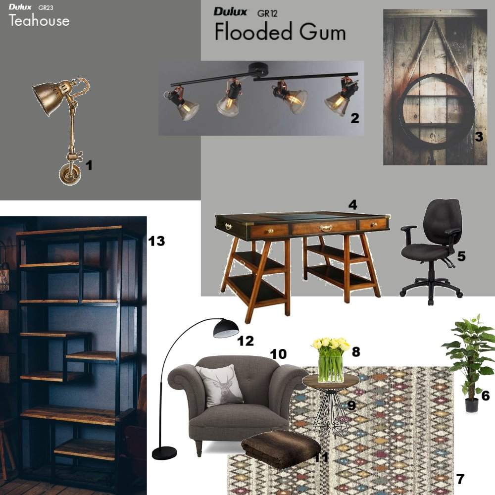 office Interior Design Mood Board by dani on Style Sourcebook