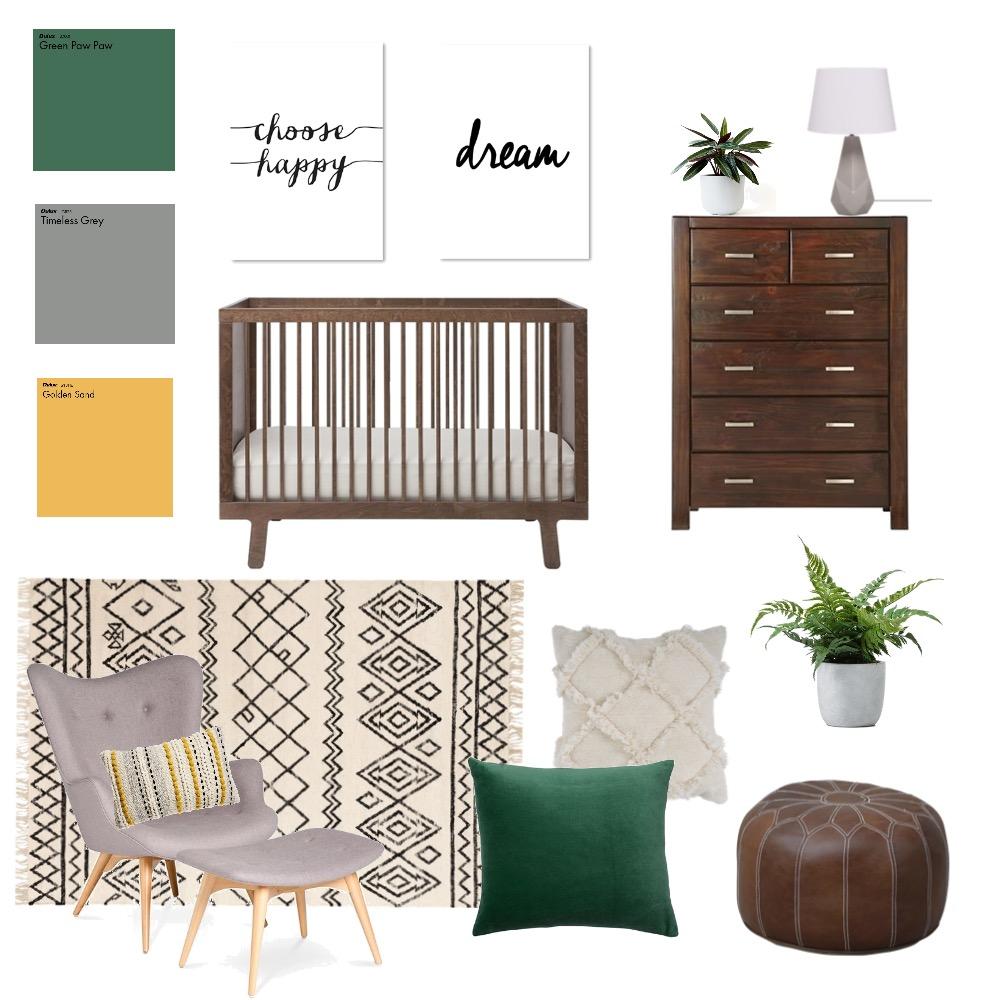 Jade- Nursery 3 Interior Design Mood Board by Sanderson Interiors on Style Sourcebook