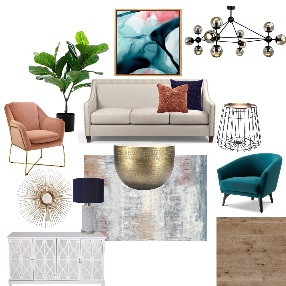 Hollywood Regency Interior Design Mood Board by aparna on Style Sourcebook