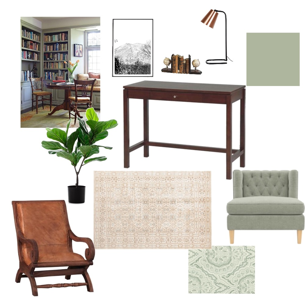 Study Interior Design Mood Board by aly on Style Sourcebook