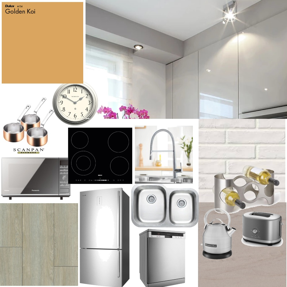 Kitchen area Interior Design Mood Board by Ausrine on Style Sourcebook