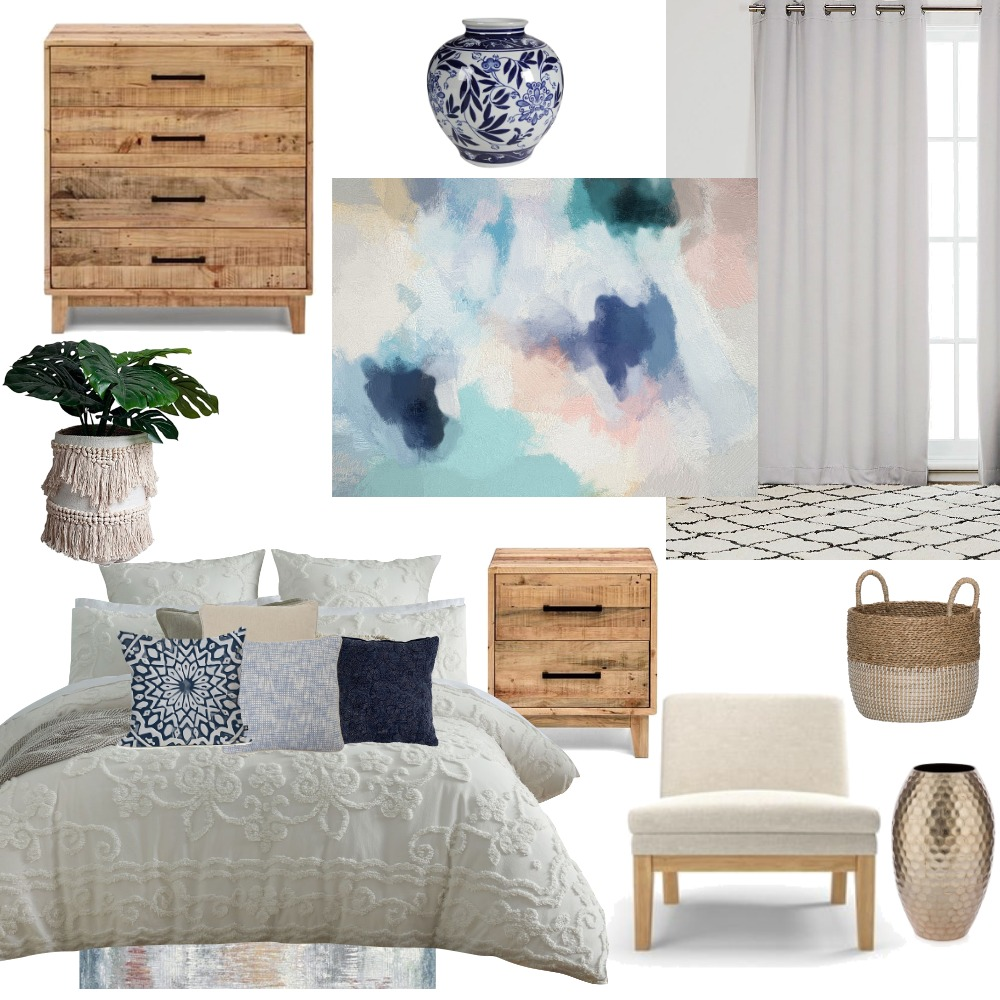 Bedroom 1 Interior Design Mood Board by sarahq102 on Style Sourcebook