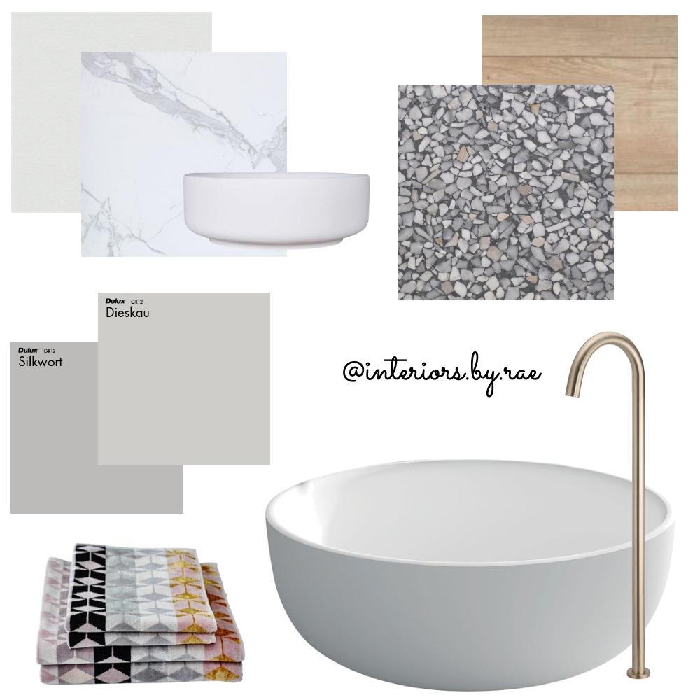 Bathroom Materials Board Interior Design Mood Board by interiorsbyrae on Style Sourcebook