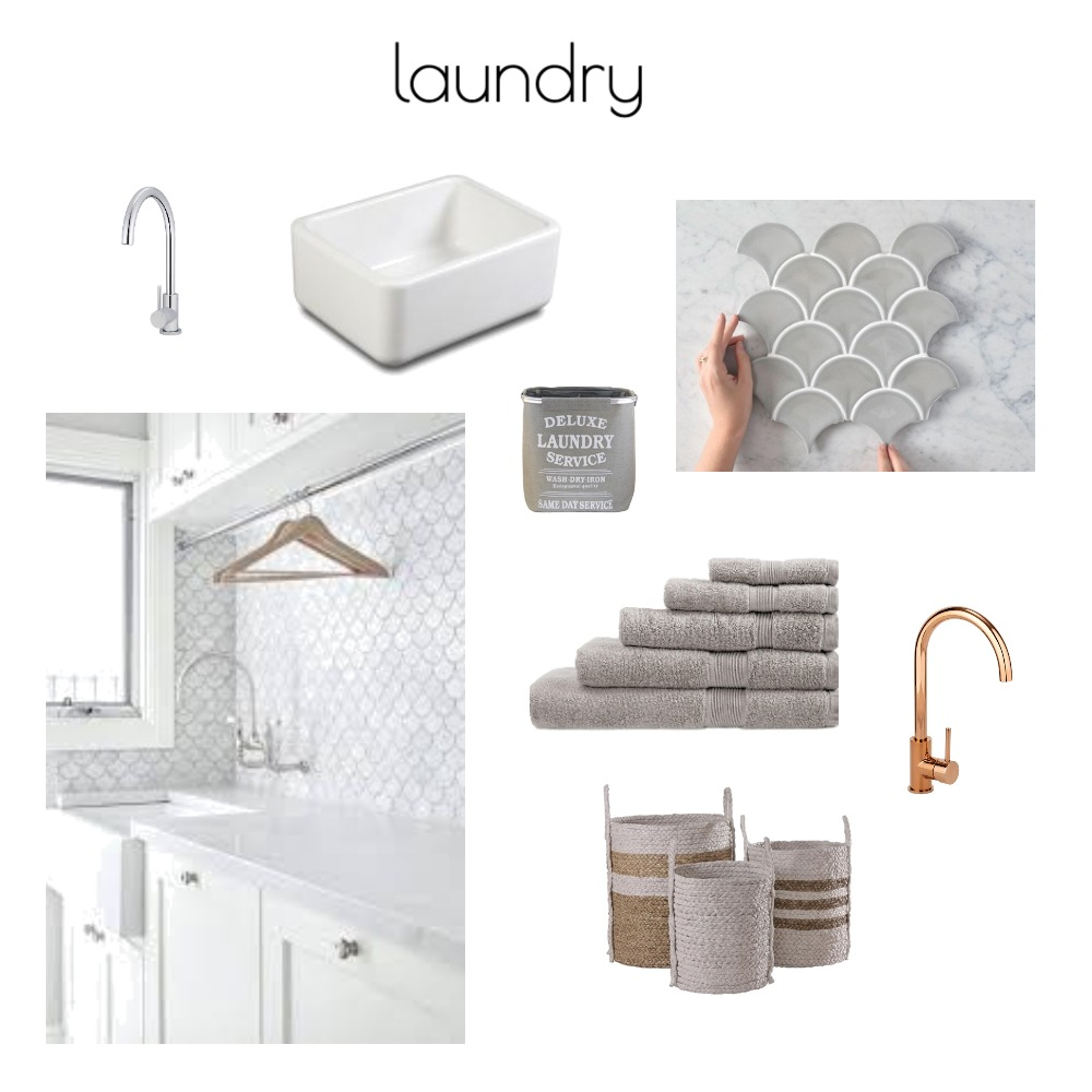 Merrylands laundry Interior Design Mood Board by Renovation by Design on Style Sourcebook