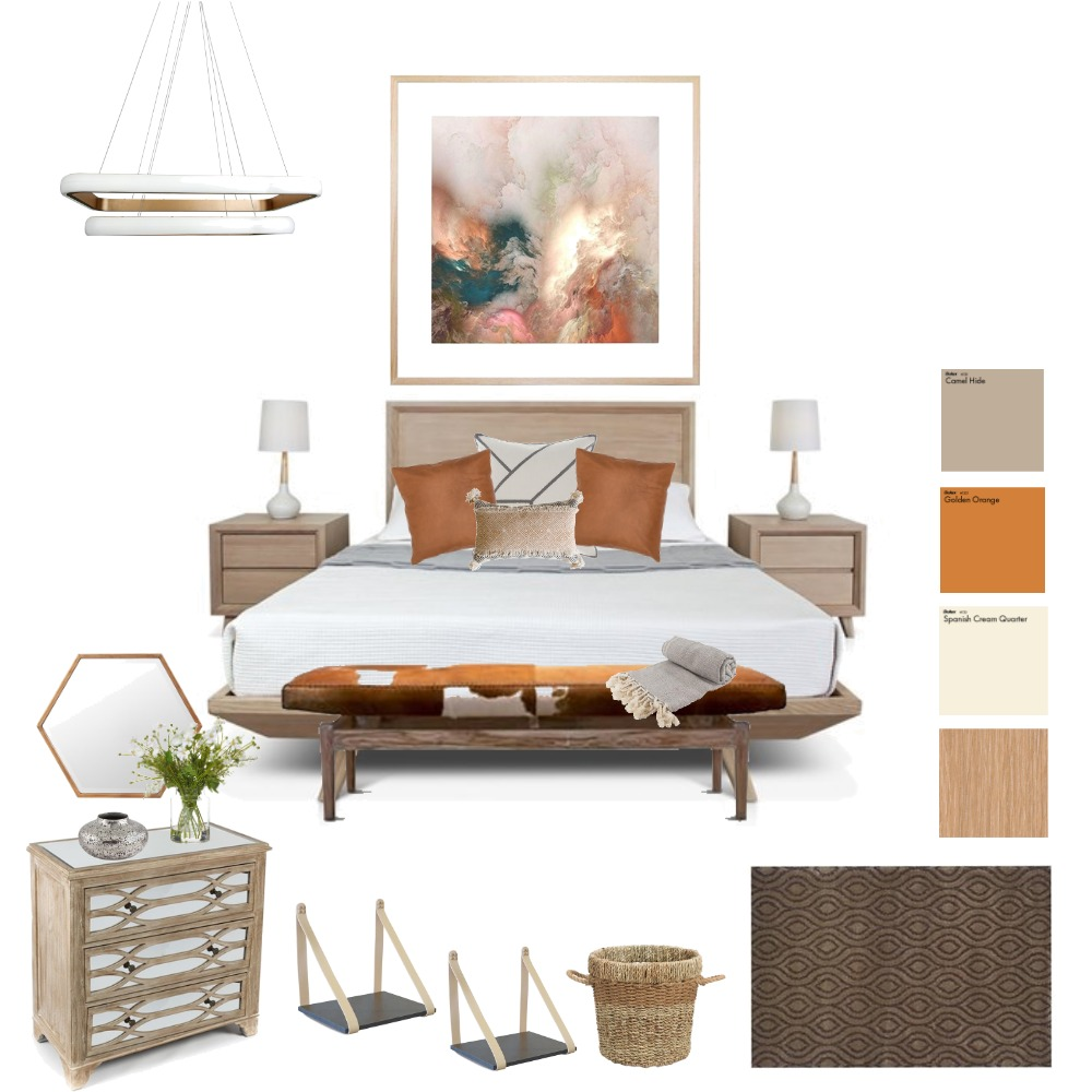 Hotel California Interior Design Mood Board by Handled on Style Sourcebook