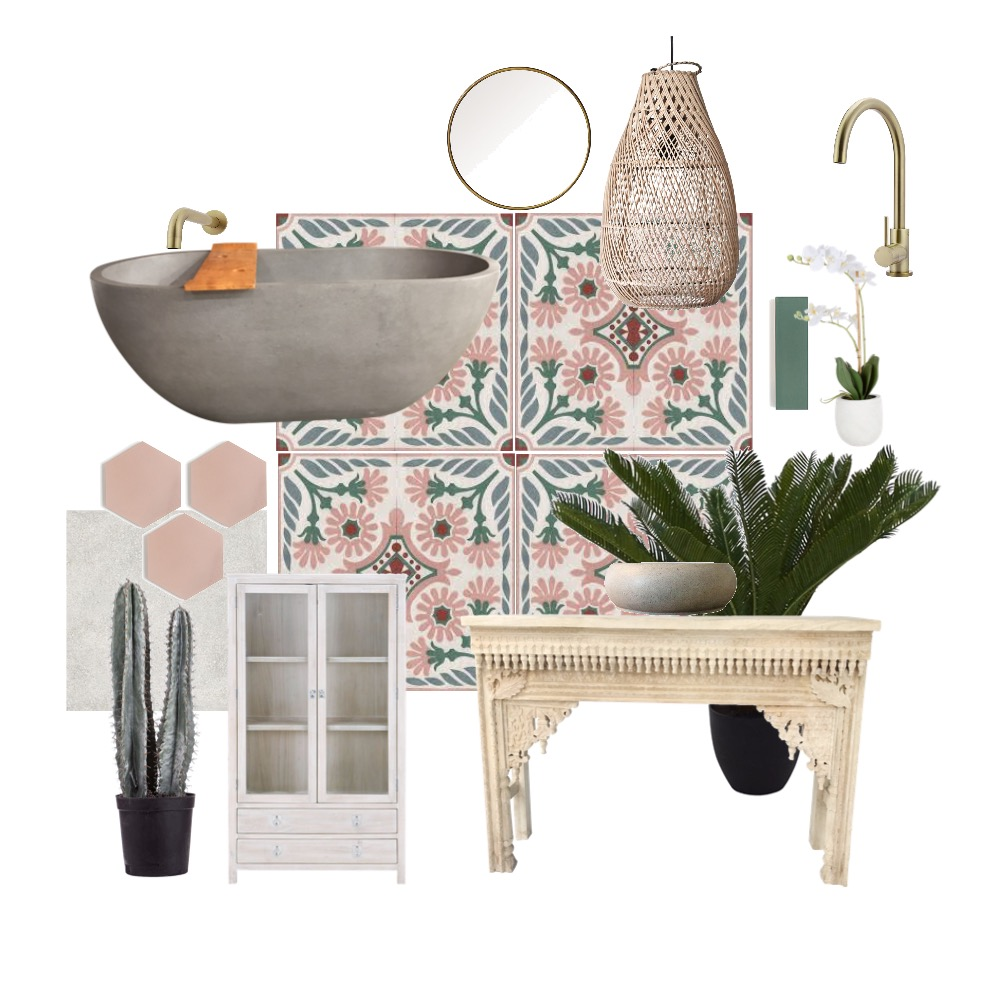 pink Morocco Interior Design Mood Board by Natasha797 on Style Sourcebook