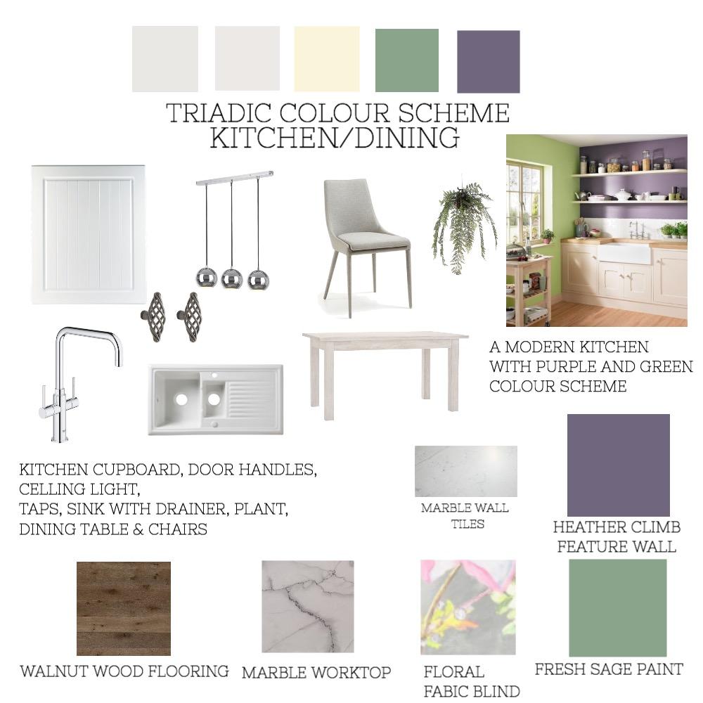 TRIADIC SCHEME KITCHEN Interior Design Mood Board by Mariosa_Interiors on Style Sourcebook