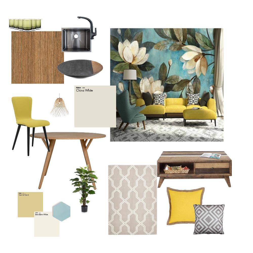 Párizsi udvar I. - nappali, konyha Interior Design Mood Board by gababallo on Style Sourcebook
