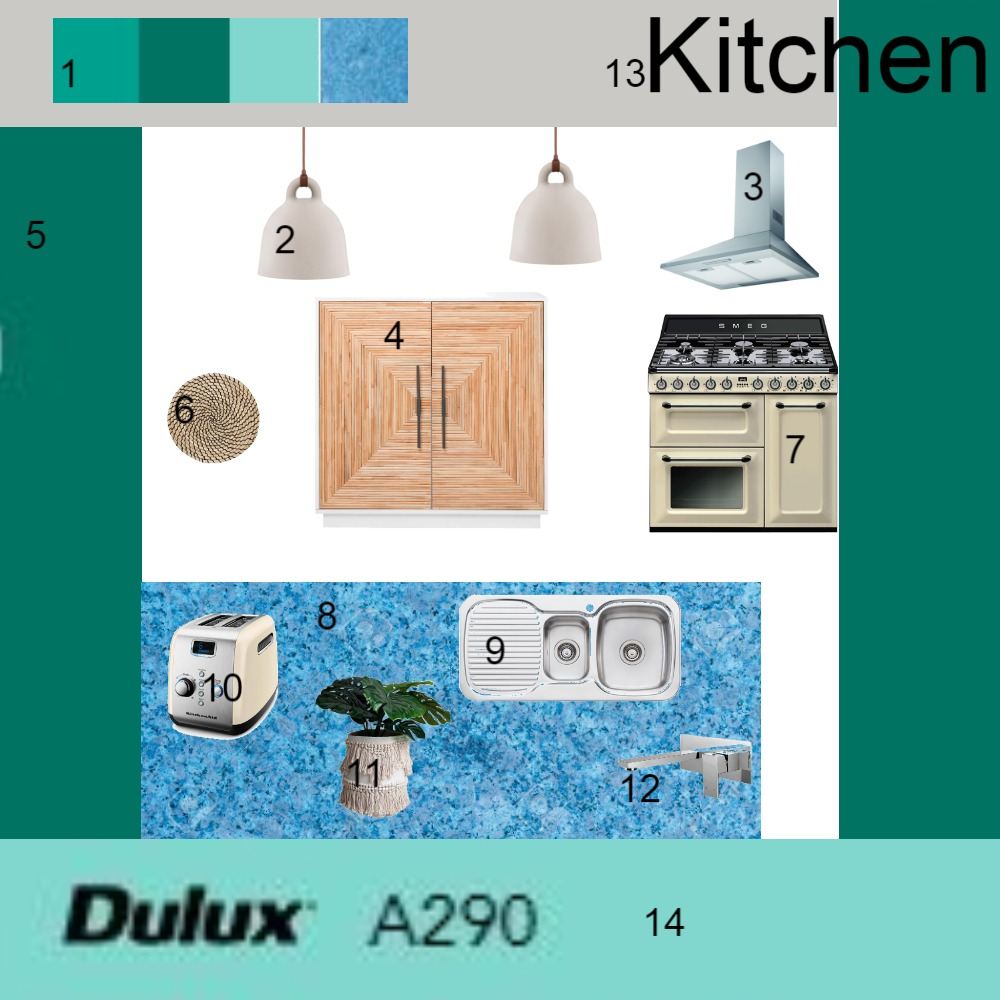 Kitchen Interior Design Mood Board by Ters on Style Sourcebook