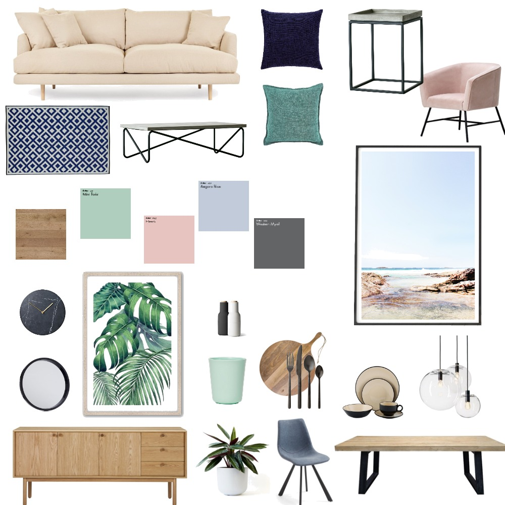 Vis Com 5 Interior Design Mood Board by caitlynbroderick on Style Sourcebook