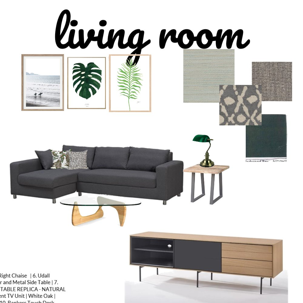 living room Interior Design Mood Board by stkay on Style Sourcebook