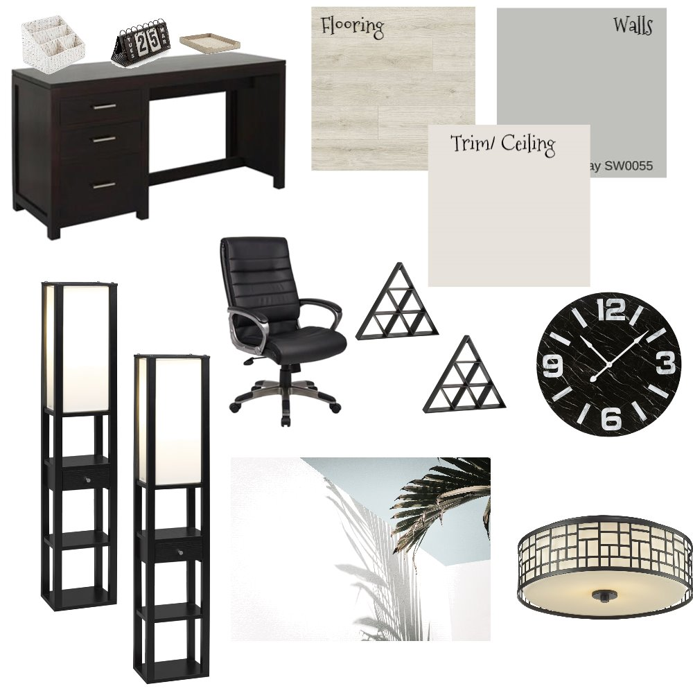 Office/Study Interior Design Mood Board by naomiryaaan on Style Sourcebook