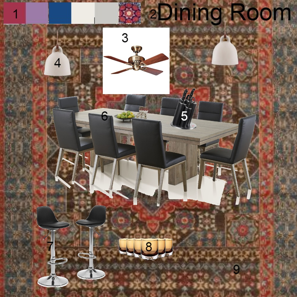Dining Room Interior Design Mood Board by Ters on Style Sourcebook
