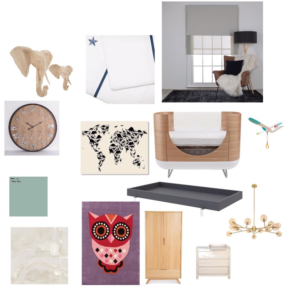 Nursery room Interior Design Mood Board by Talliya17 on Style Sourcebook
