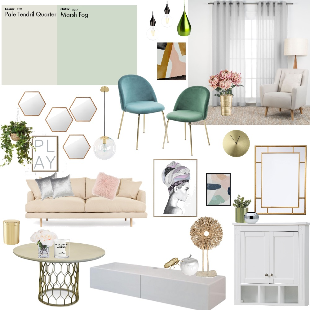 Living room Interior Design Mood Board by Zhenlin on Style Sourcebook