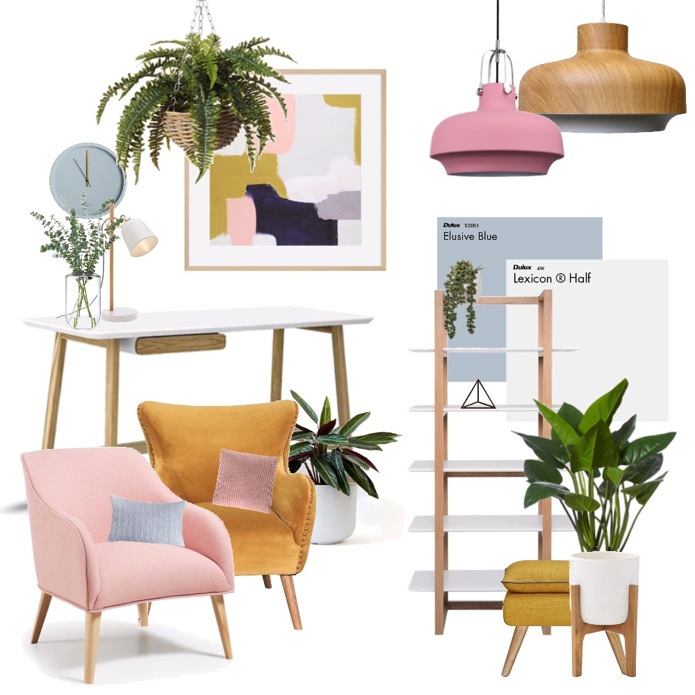 Eloise office Interior Design Mood Board by hollykate on Style Sourcebook