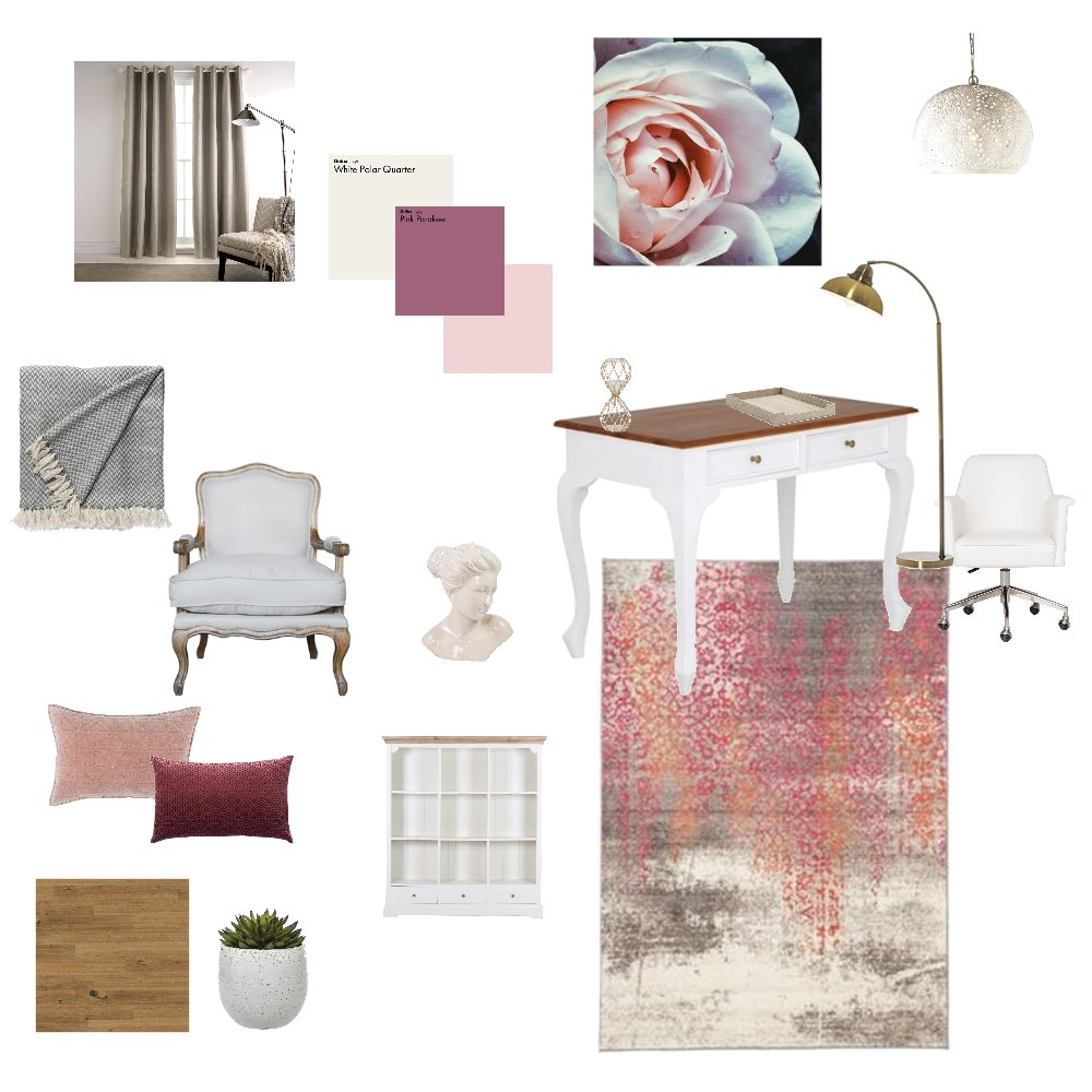 Study Interior Design Mood Board by Ronan1 on Style Sourcebook
