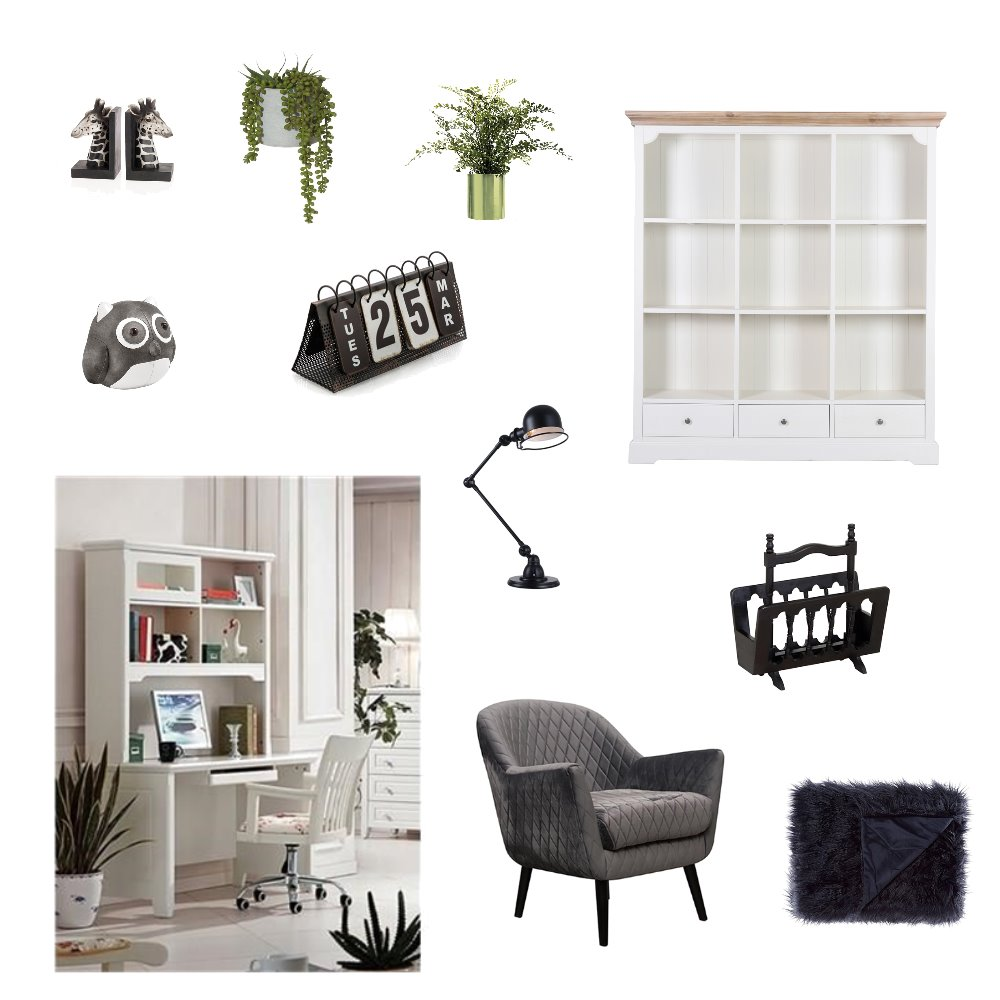 Study Interior Design Mood Board by Sandy on Style Sourcebook