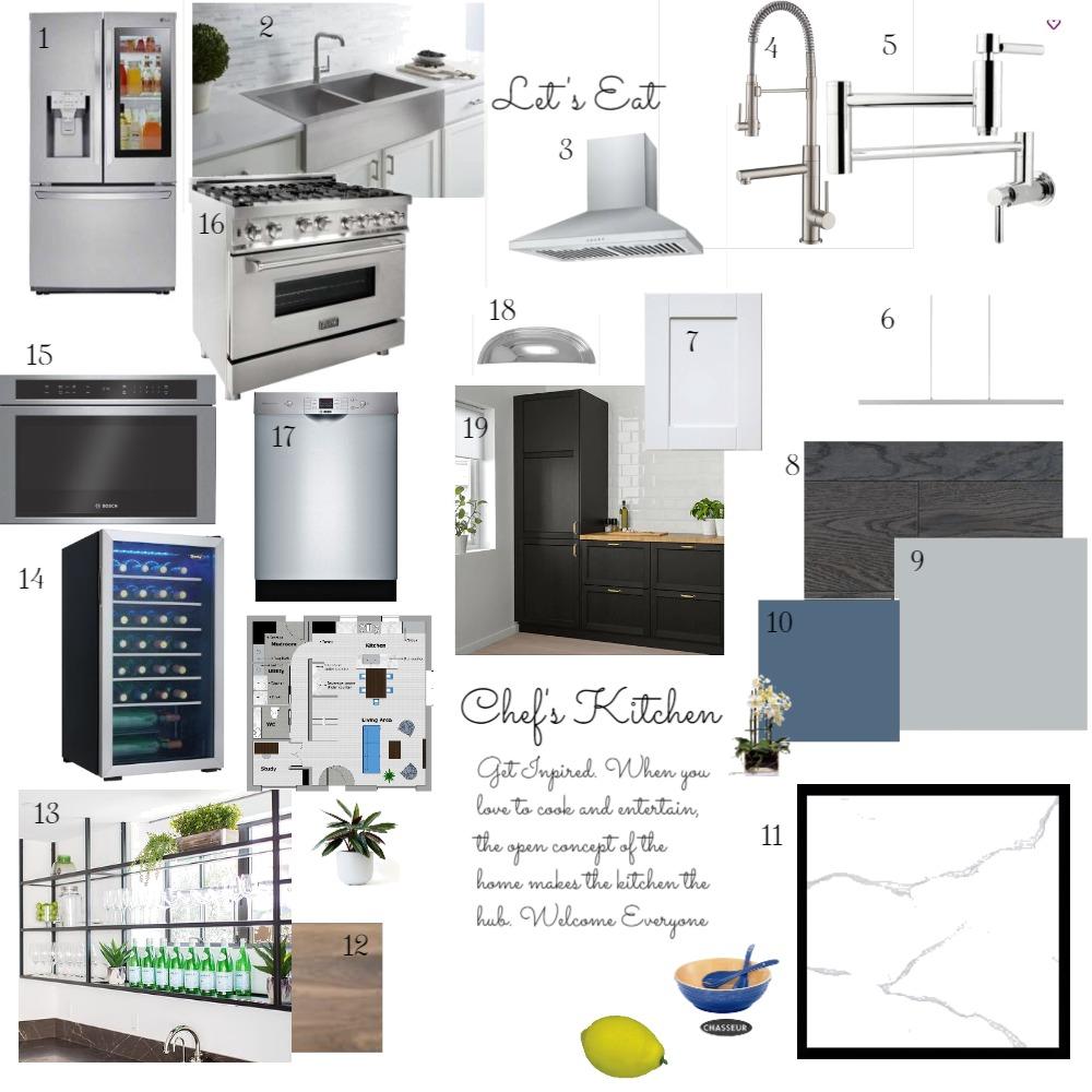 Kitchen IDI Interior Design Mood Board by OTFSDesign on Style Sourcebook
