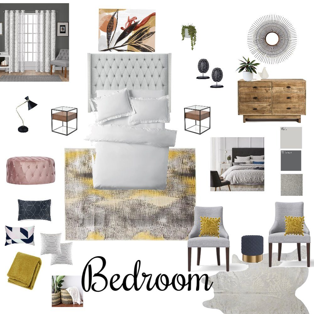 Bedroom Interior Design Mood Board by Natashajj on Style Sourcebook