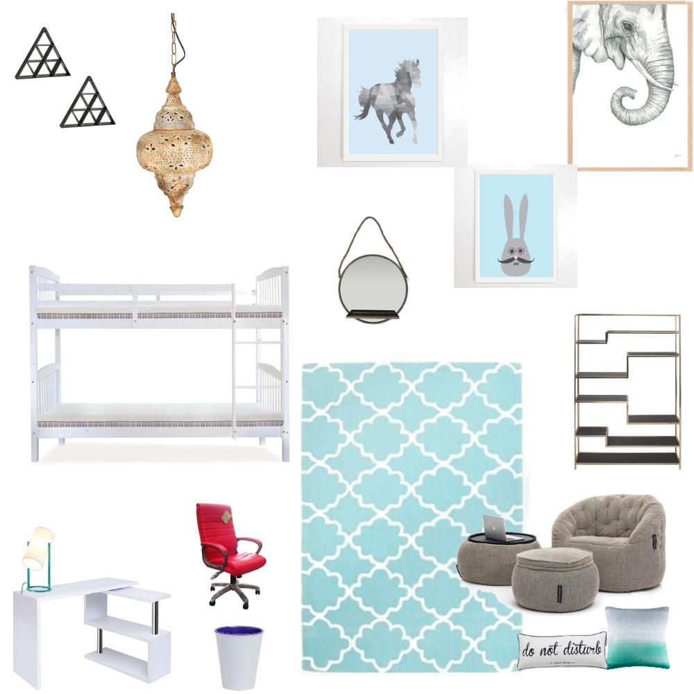 boys bedroom Interior Design Mood Board by DestinyDesigns on Style Sourcebook